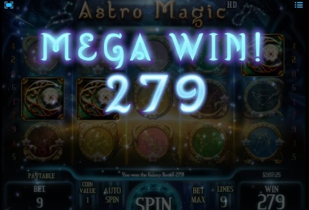 Φρουτάκι Astro Magic mega win