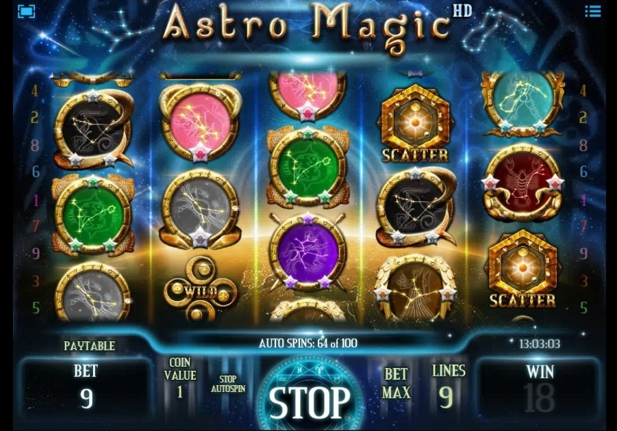 Φρουτάκι Astro Magic scatter