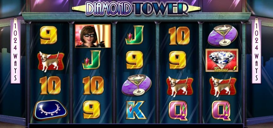 Φρουτάκι Diamon Tower WILD