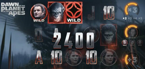 free spins sto froytaki Dawn of the Planet of the Apes