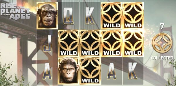free spins sto froytaki Rise of the Planet of the Apes