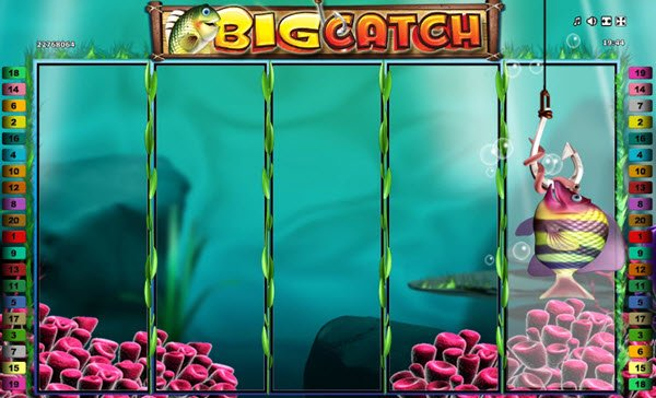 the fishing feature sto big catch slot